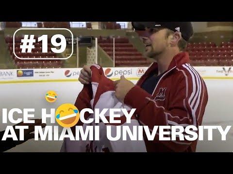 PLAYING ICE HOCKEY AT MIAMI UNIVERSITY - OHIO    HERE TO HEAR TOUR #19