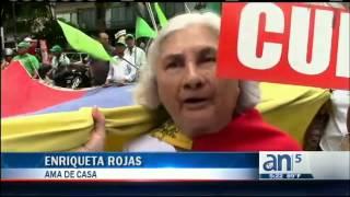 Protestas en Venezuela - América TeVé