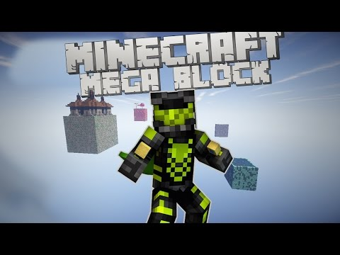 [Minecraft] Mega Block la 8 | Catre o noua insula! | Episodul 3