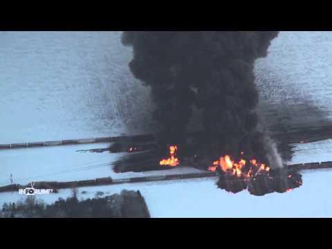 Casselton Train Derailment: Red River Dispatch Calls