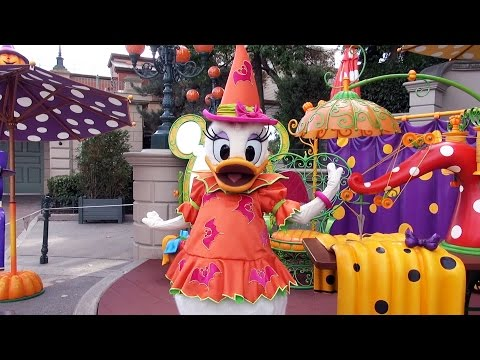 Daisy Duck Halloween Meet and Greet at Disneyland Paris 2016 - Le Coin Des Costumes d'Halloween