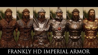 TES V - Skyrim Mods: Frankly HD Imperial Armor and Weapons