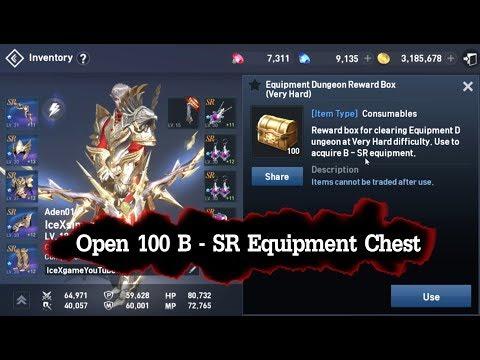 Lineage 2 Revolution Open 100 B - SR Chest