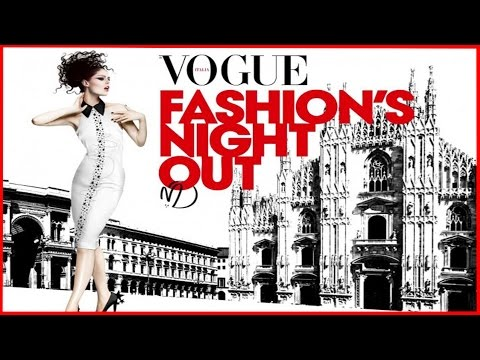 Vogue Fashion Night Milano Vlog