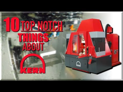 Most Accurate CNC Machines In The World: Kern Microtechnik?