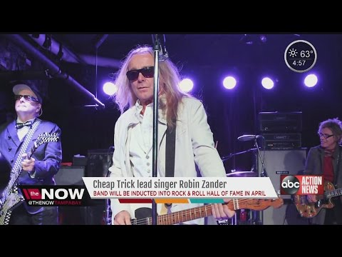 Cheap Trick lead singer calls Tampa Bay home