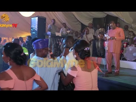 K1 DE ULTIMATE'S PERFORMANCE AT FOLAKE AND TAIWO WEDDING