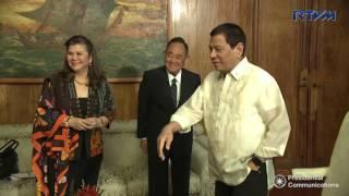 Meeting with Former House Speaker Jose de Venecia, Jr. 3/7/2017