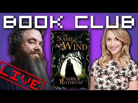 Geek Bomb Book Club: Name Of The Wind, Featuring PATRICK ROTHFUSS!