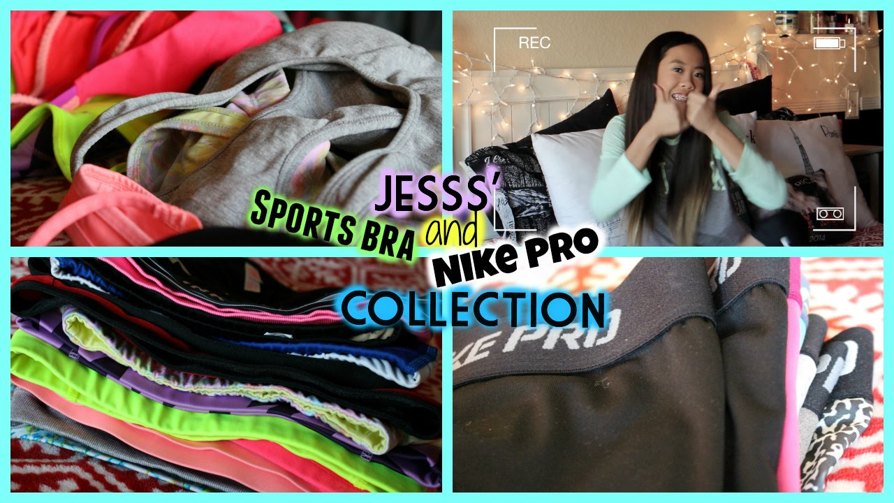 Jesss' Nike Pro AND Sports Bra Collection!
