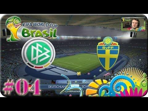 FIFA WM Brasilien 2014 - Deutschland gg Schweden [Lets Play #04]