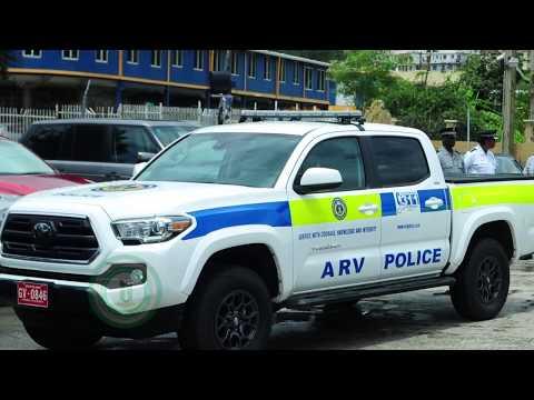 UK Donates Arm Response Vehicles to the RVIPF