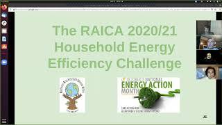 RAICA Energy Efficiency Challenge Webinar 10/21/2020