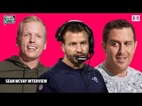 Sean McVay Literally Remembers Every Play of His Coaching Career 🤯| Simms & Lefkoe: The Show
