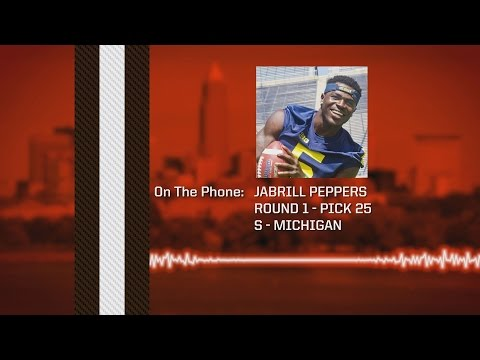 2017 Draft: Jabrill Peppers Conference Call