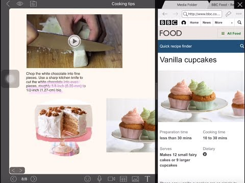 NoteLedge iPad Tutorial - Collect Web Contents with Drag and Drop