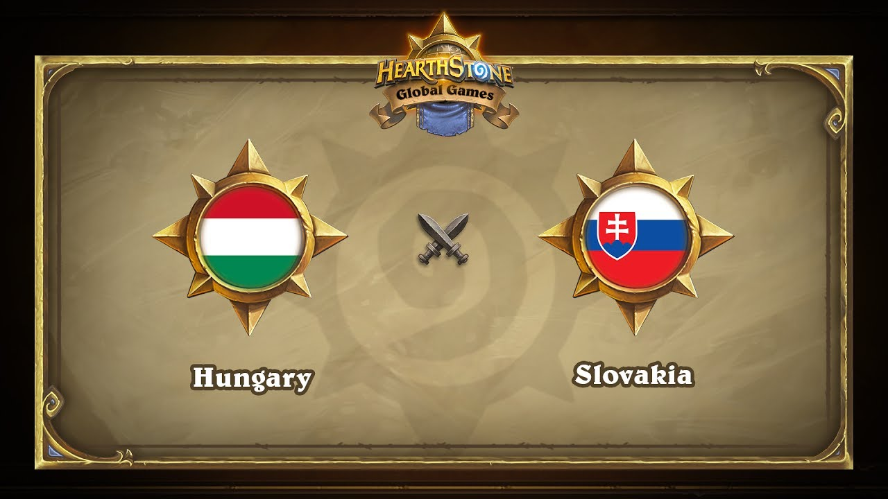 Венгрия vs Словакия | Hungary vs Slovakia | Hearthstone Global Games (14.06.2017)
