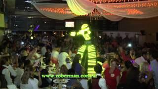 Roberman - Robot led luminoso