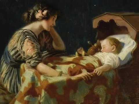 Wiegenlied. Lullaby. Cradle Song.Brahms.Marino van Wakeren.(version 2)