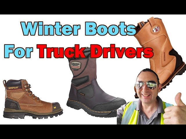 Winter Boots for truck drivers