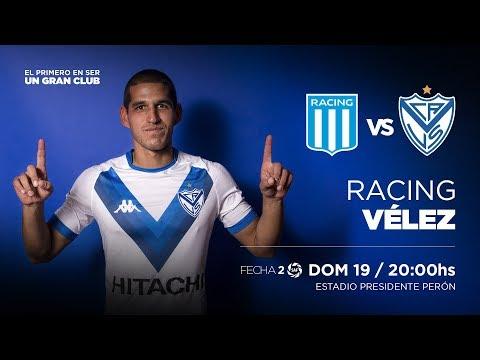 #JuegaVélez | Racing Vs Vélez | Superliga 2018/19 | Fecha 2