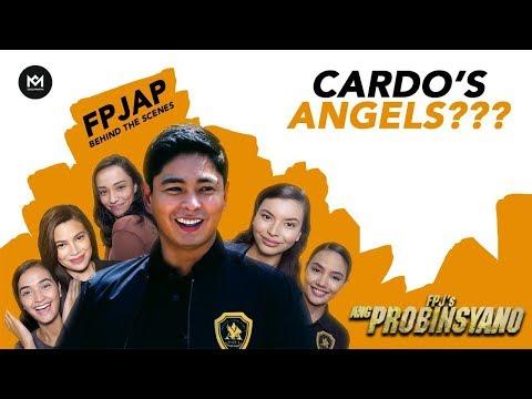 Coco Martin at ang Cardo's Angels!