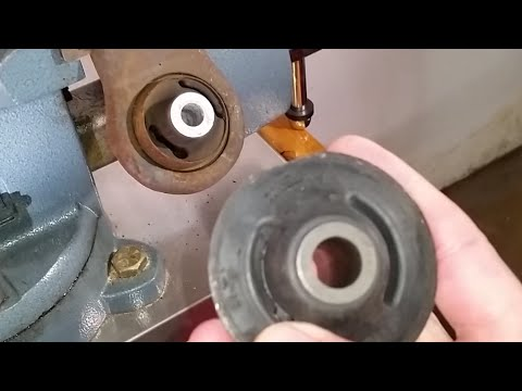 How To Change Control Arm Bushings Using A Torch - DIY