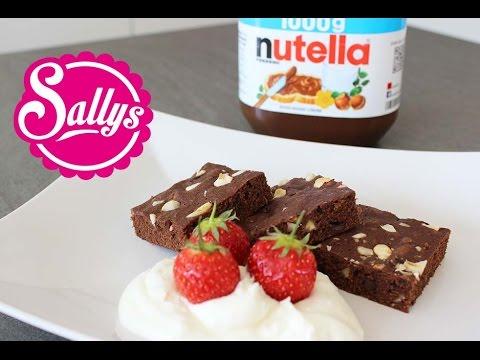 Nutella-Brownies mit nur 3 Zutaten!