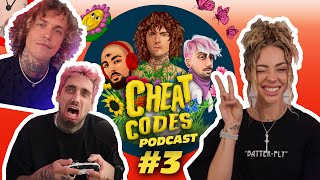 Charly Jordan Swims w/ Sharks! - Cheat Codes Podcast EP 3