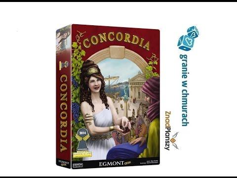Concordia - zasady, przykładowa rozgrywka