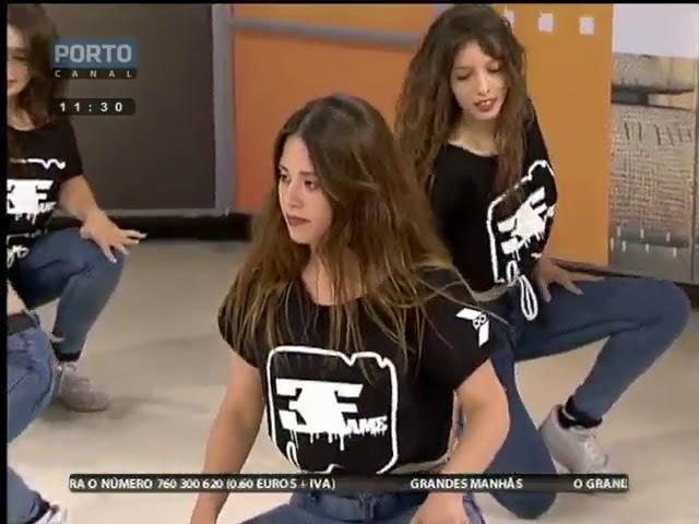 E eis que as nossas raparigas se apresentaram no Porto Canal com profissional