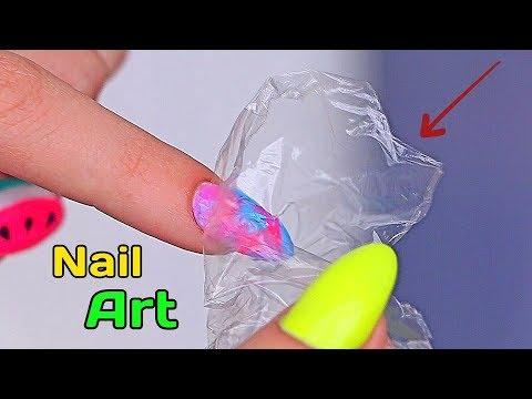Легкий дизайн для ногтей