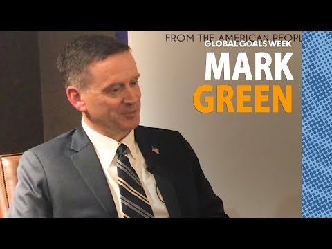 Mark Green, USAID Administrator