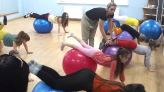 Фитнес клуб Лотос  Детский фитнес