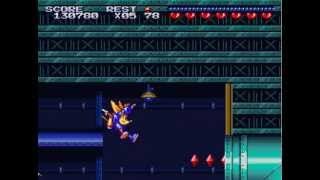 Sparkster (SNES) - Stage 4 (Hard)