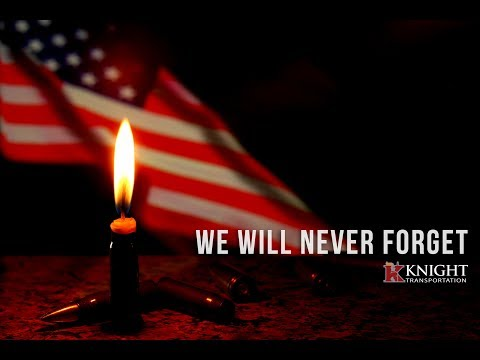 We Will Never Forget | Memorial Day - Knight Transportation