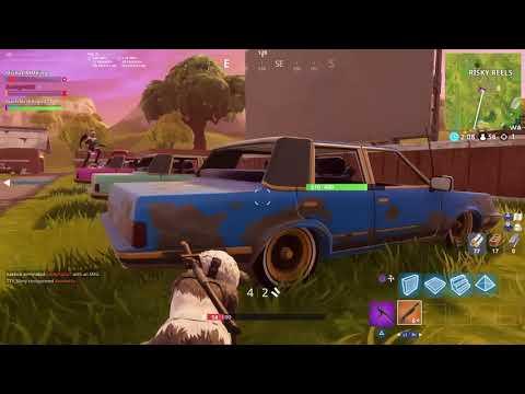 Location Wheel Challenge | Fortnite
