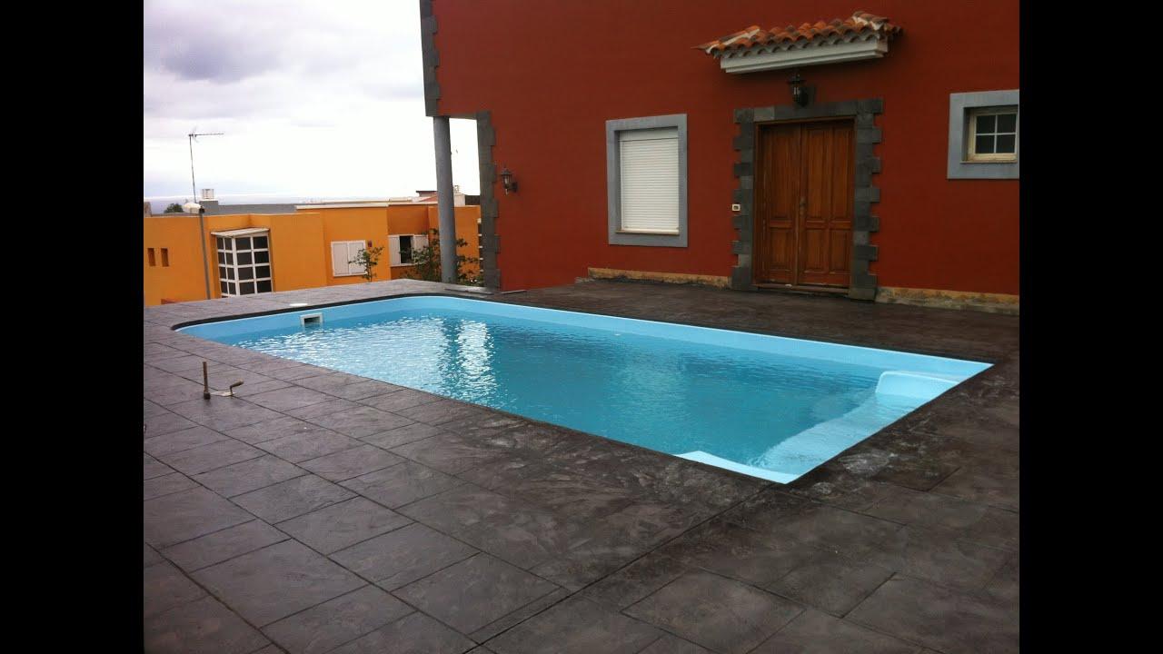 Hormigon impreso para piscinas amazing os dejamos un vdeo for Hormigon impreso villena