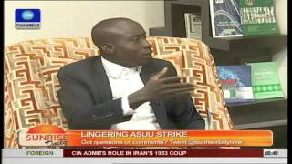 ASUU Strike: Nigerian Government is a very weak one