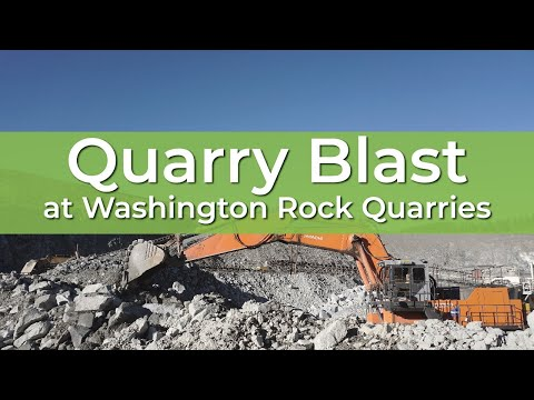 Quarry Blast | Washington Rock Quarries