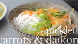 Vermicelli Noodle Bowl Recipe - How To Make Authentic Vermicilli Noodle Bowl