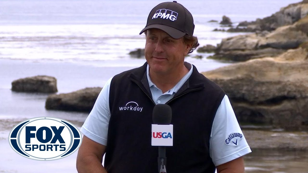 Phil Mickelson addresses the media after a rough 3rd round at the US Open | 2019 U.S. OPEN