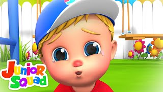 The Boo Boo Song | Sad Song | Hurt Song | Mommy Song | Junior Squad | kids tv