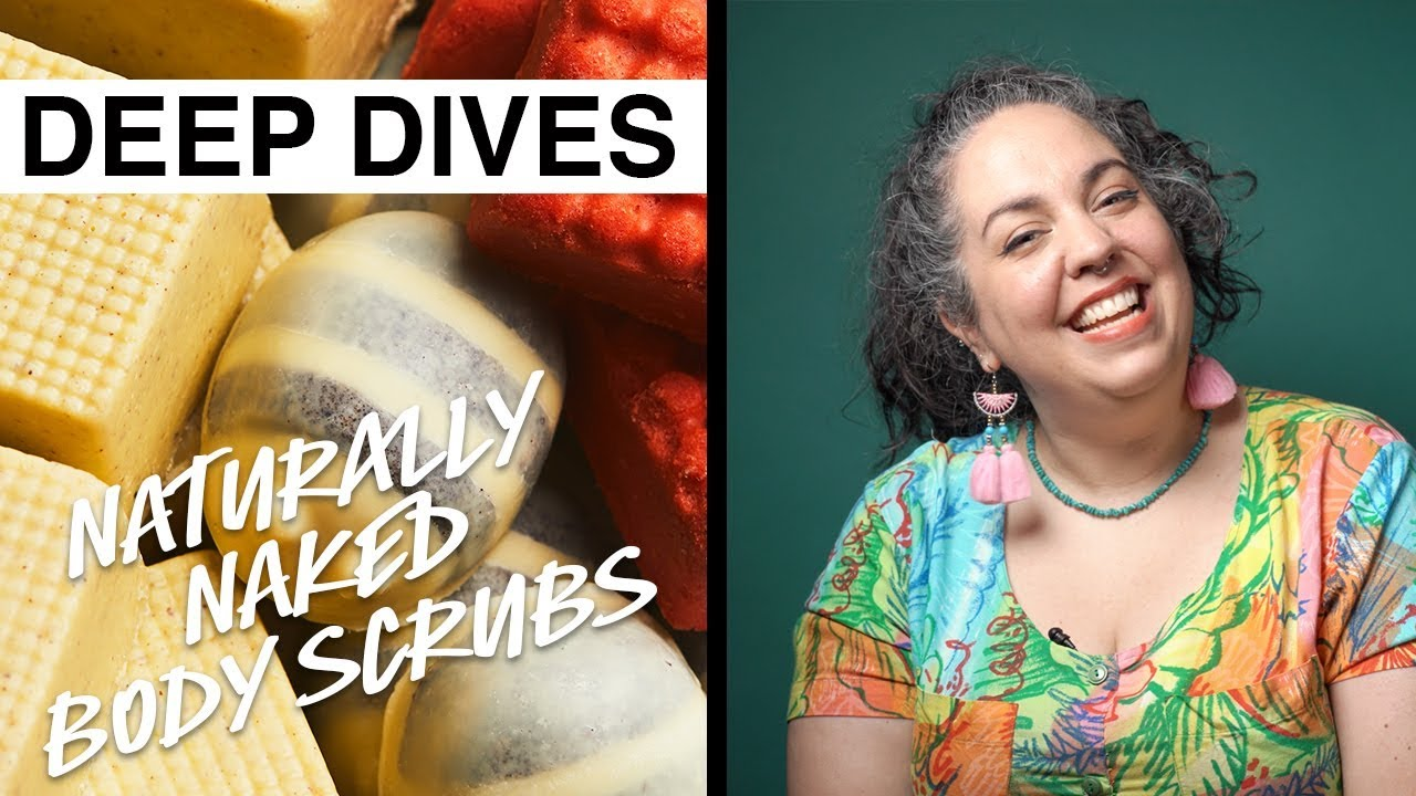 Lush Deep Dives: Buff up on our naturally naked body scrubs
