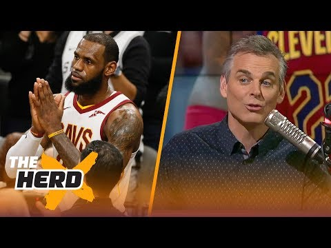 Colin Cowherd reacts to LeBron scoring his 30,000th career point  THE HERD