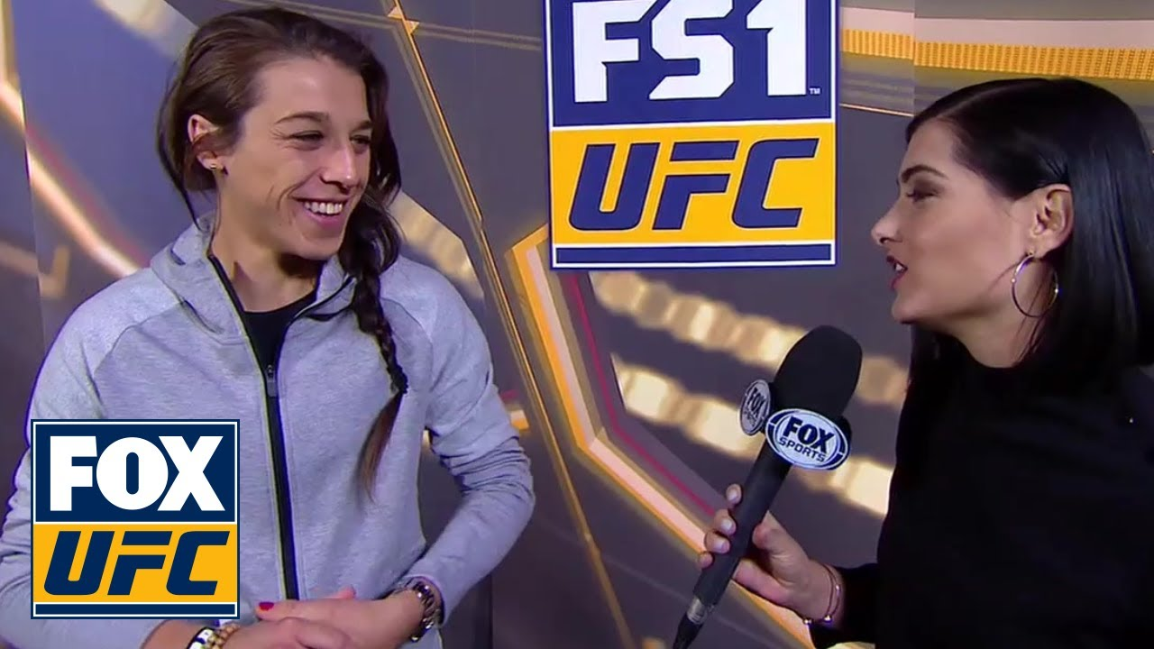 Joanna Jędrzejczyk tells Megan Olivi she had no problem with her weight cut | INTERVIEW | UFC 231