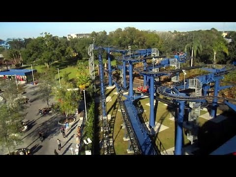 Lego Technic Test Track Front Seat On Ride Hd Pov Legoland Florida