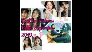 DRAMA KOREA TERBARU BULAN SEPTEMBER 2019.