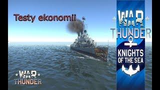 War Thunder po Polsku - Naval battles i testy ekonomii