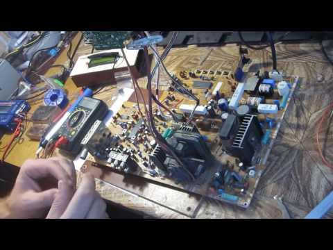 видео: Телевизор sharp 21l-sc не включается